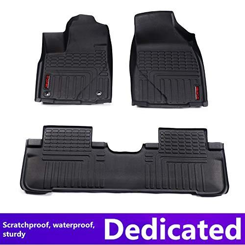 Car Floor mats for Volkswagen Tiguan L 2017-2019 car Accessories car Styling Custom Floor mats TOP Material