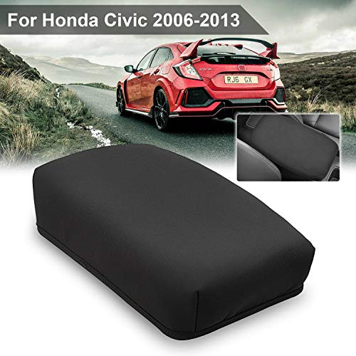 Seven Sparta Armrest Cover for Honda Civic 2006-2013, Waterproof Anti-Scratch Console Cover for Civic, Middle Console Cover