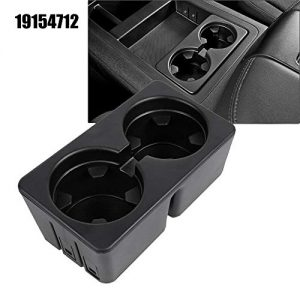 AORRO Car Cup Holders 19154712 Fit for 2007-2013 Silverado Sierra Avalanche 2007-2014 Tahoe Suburban Yukon Escalade, Center Console Beverage Drink Insert (for Floor Mounted Console Only)