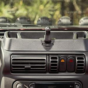 Rugged Ridge 13551.18 Dash Multi-Mount for 1997-2006 Jeep Wrangler TJ/LJ
