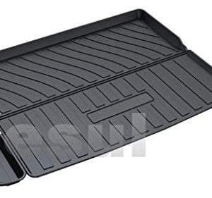 Vesul Rubber Rear Trunk Cover Cargo Liner Trunk Tray Carpet Floor Mat Compatible with Jeep Cherokee 2019 2020
