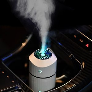 Humidifier Aromatherapy Diffuser with LED Lamp Cool Mist Adjustable Brightness Mist Mode Humidifier for Car Home Desk Office
