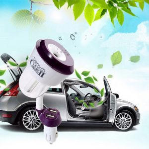 Nanum ii New 12V Car Charger USB Car air freshener II Car Steam Humidifiers with Car Air Purifiers for iphone 6 ipad Samsung