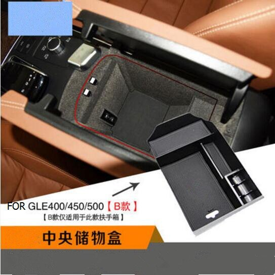 Armrest Storage Box Glove Box Tray For Benz ML GL GLE