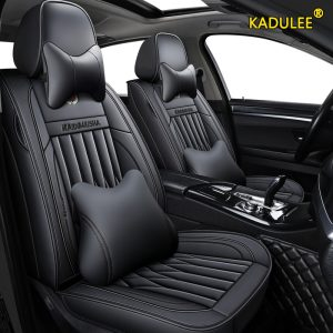 KADULEE leather car seat covers For jeep grand cherokee