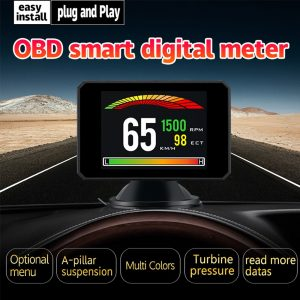 Auto Head-up Display P16 HUD Display Speed Meter Diagnostic Tools
