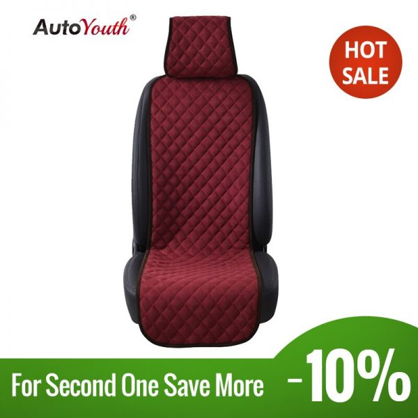 4 Colours Nano cotton velvet Cloth Seat Cushion