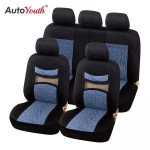 Car Seat Protector Auto Seat Covers Multicolor Jacquard Cloth