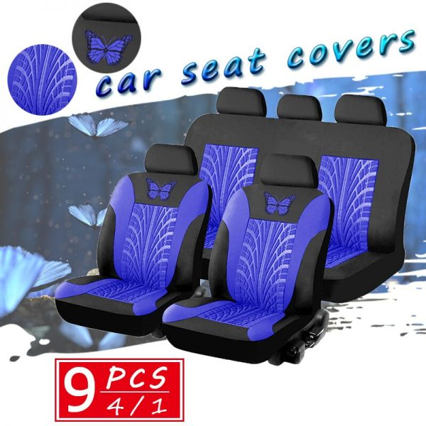 Embroidery Car Seat Covers for Womens Interior
