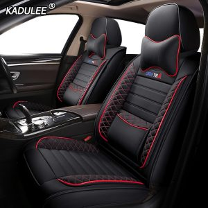 Leather car seat cover for vw golf 4 5 6 Volkswagen