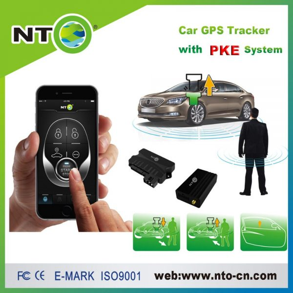 NTG01C new pke car alarm with engine start stop button