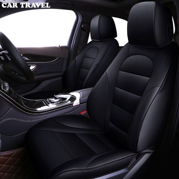 Custom leather car seat cover for Toyota Corolla