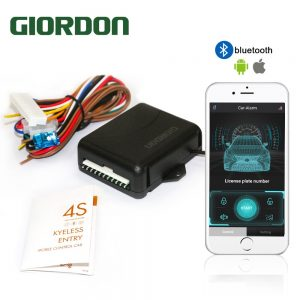 Keyless Entry System Central Locking With Remote Control Car Alarm