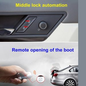 Car Keyless Entry Engine Start Alarm System Push Button