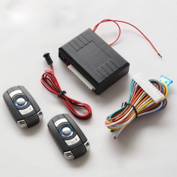 Universal Car Alarm System 2Remote Keyless Entry Remote Trunk