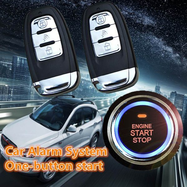 SUV Keyless Entry Remote Engine Start Alarm