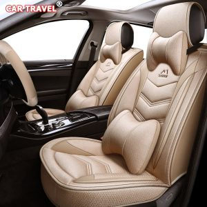 Flax car seat cover for Hyundai i10 i20