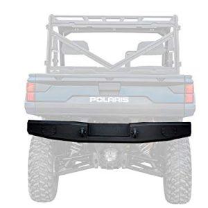 SuperATV Heavy Duty Rear Bumper for Polaris Ranger