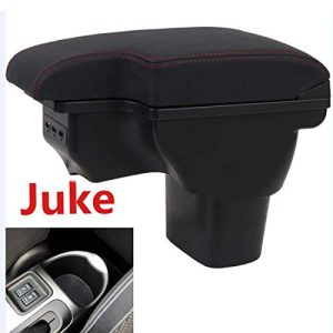 HRCHCG for Nissan Juke Consoles Armrest Box Double Layer Storage