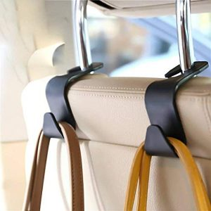 FJCTER Car Vehicle Headrest Hooks with 44 LB Load
