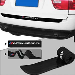 Meng Anna Durable Car Rear Bumper Protector Rubber Compatible