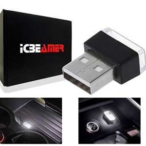ICBEAMER 1pc White Universal USB Interface Plug-in