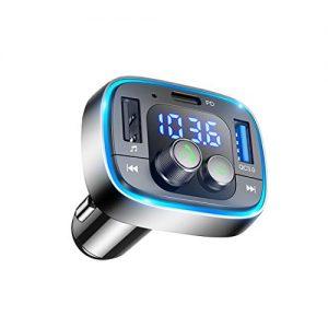 LIHAN Bluetooth FM Transmitter for Car