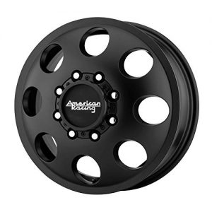 American Racing Baja Dually Front 17x6.5 8x200 Black
