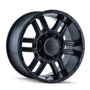 Rim Matte Black Size 16x8 INCH Bolt Pattern 6X114.3
