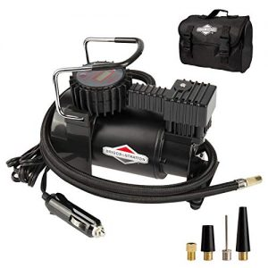 BriggsStratton Tire Inflator Car Tire Pump Portable Air Compressor