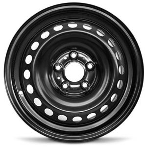 2013-2019 Nissan Sentra 16 Inch Black Steel Rim Fits R16 Tire