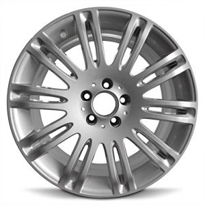 Wheel For 2007-2009 Mercedes -Benz E-Class 18 Inch 5 Lug Silver