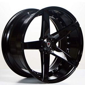 Marquee MQ 3226 – 20 Inch Rims – Set of 4 Black Wheels