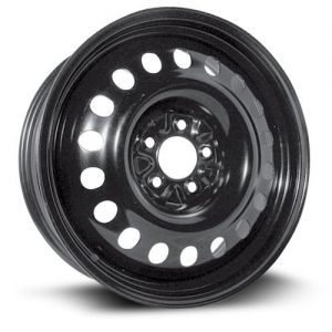 Wheel black finish Steel Rim 18X7