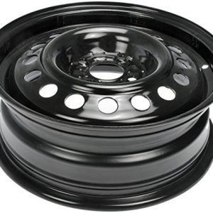 Black Wheel with Painted Finish 15 x 5.5 inches