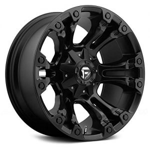 Black Wheel Rim Fuel Offroad D560 Vapor 20x10 5x114.3/5x127 -18mm