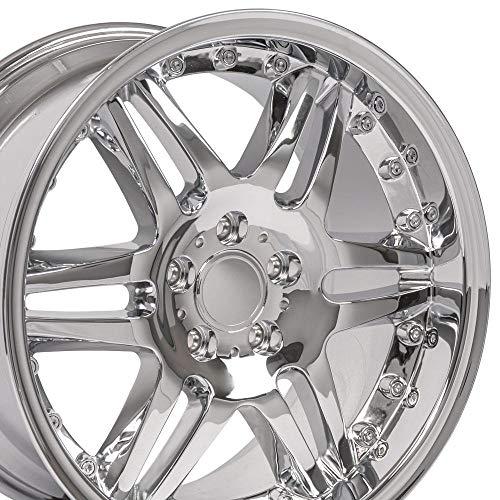 Wheel Mercedes Benz C E S Class Split Spoke Chrome Rim