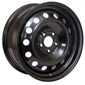 RTX, Steel Rim black finish Aftermarket Wheel, 17X7, 5X112