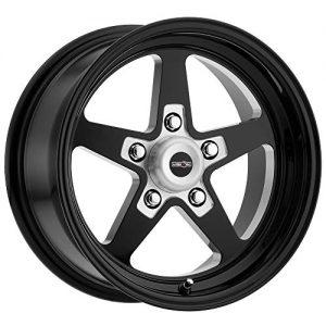 """-24mm Black Wheel Rim Sport Star 17x4.5 5x4.75"""""""