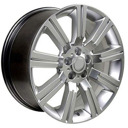 OE Wheels 20 Inch Hyper Silver 20x9.5 Fits Land Rover Range Rover