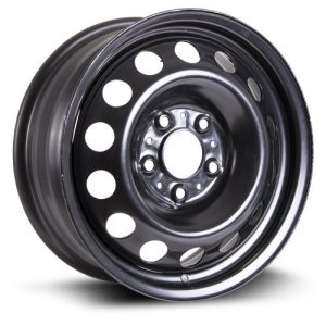 RTX, Steel Rim, New Aftermarket Wheel black finish