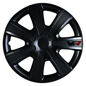 VR Carbon Wheel Cover Kit - Black - 16-Inch