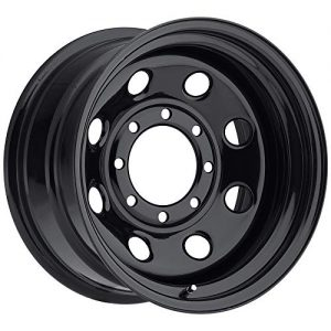 "SOFT 8 BLACK Black Wheel (16x8""/5x5"", +12mm Offset)"