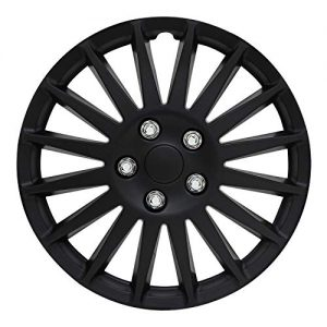 "Pilot Automotive All Black 16"" Indy Wheel Cover"