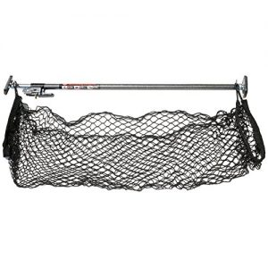 Keeper Ratcheting Cargo Bar with Storage Net