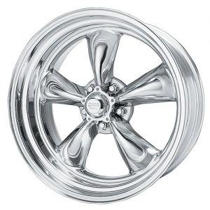 Polished Wheel American Racing Hot Rod Torq Thrust II
