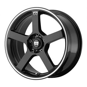 "40mm Black/Machined Wheel Rim 17"" Inch"
