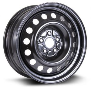 RTX, Steel Rim black finish 17X7, 5X114.3