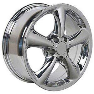 Mercedes Benz E S SLK CLK 17x7.5 Wheel Chrome Rim