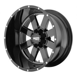 "Gloss Black Wheel With Milled Accents 18x9""/5x127, 139.7mm"